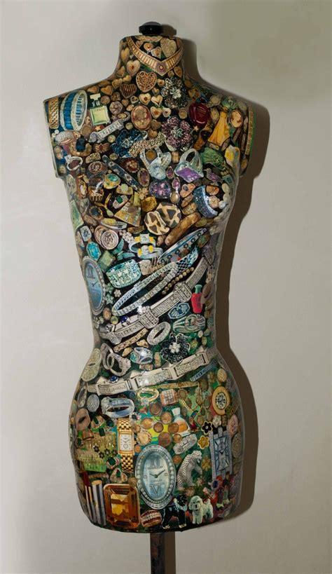 Decoupage Dressforms Mannequins