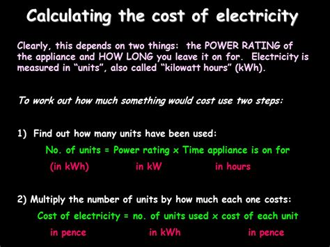 how to calculate the cost of electricity consumption top 28 how to calculate the cost of electricity