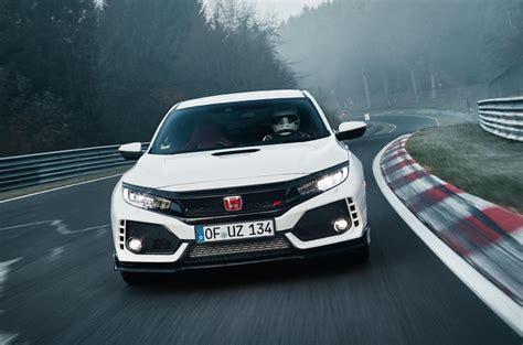 Civic Type R Nurburgring Time by Honda Civic Type R Smashes Nurburgring Fwd Record