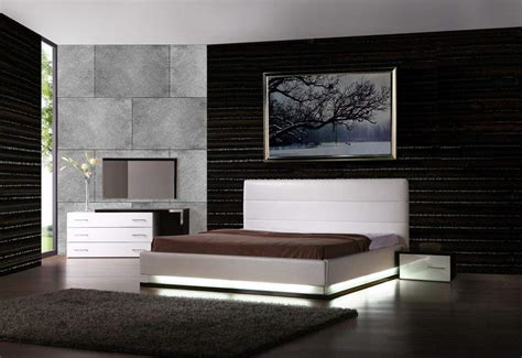 bedroom modern furniture leather modern contemporary bedroom sets feat light