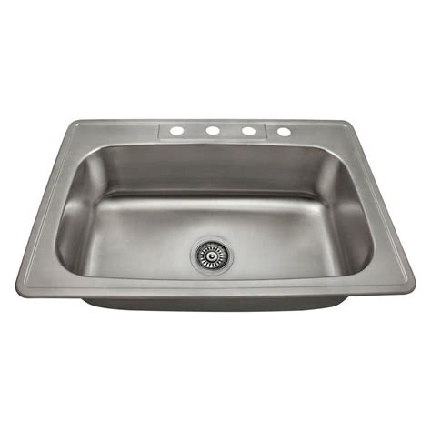 mr direct kitchen sinks reviews mr direct drop in stainless steel 33 in 4 single