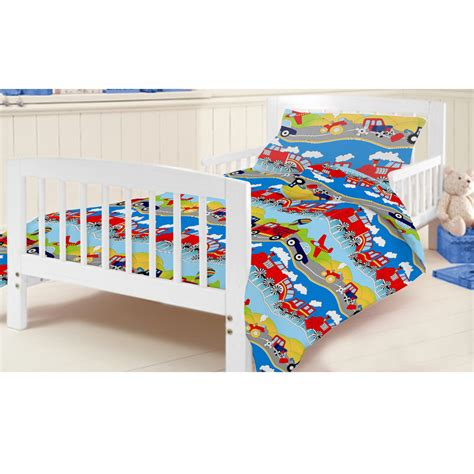 plain cot bedding sets cotbed duvet bedding set in plane design special offer