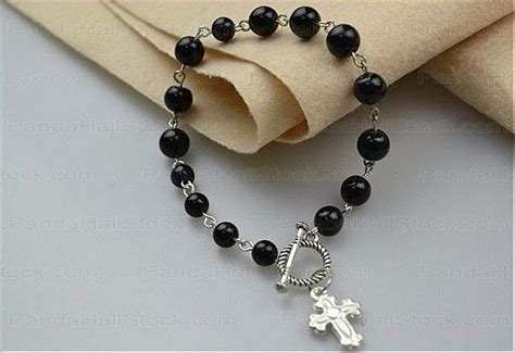 how to make beaded rosary beaded bracelets tutorial how to make rosary bracelet with
