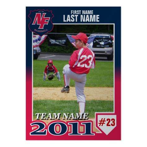 make your own baseball card free free make your own baseball card free template