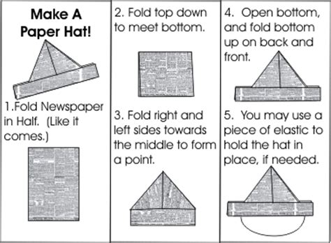 how to make an origami pirate hat 21 creative ways to make a hat out of a newspaper guide