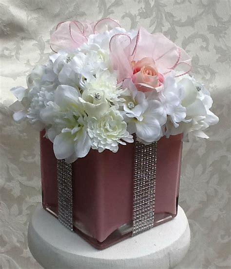 gift box centerpiece ideas silk floral gift box centerpiece bling baby shower bridal
