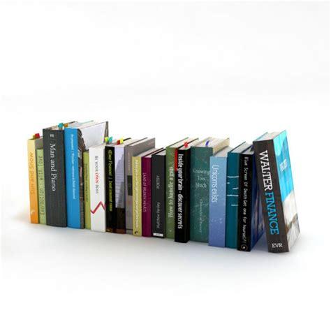 3d picture books books 3d model obj cgtrader
