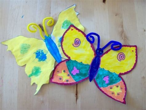 butterfly crafts for to make things to make and do butterflies