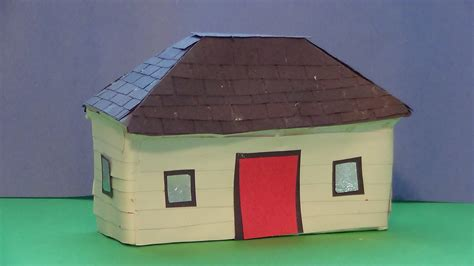 how to make a small house how to make a model of a house