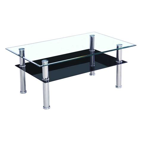 glass table glass top coffee table casual cottage