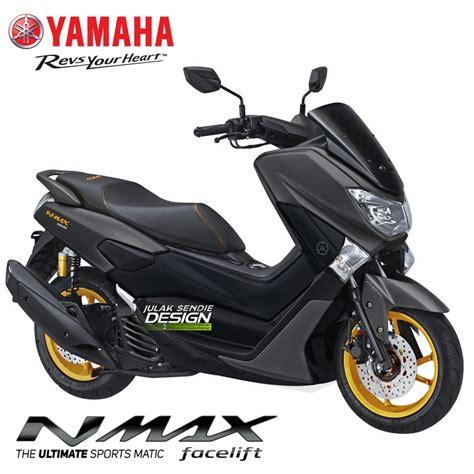 Pcx 2018 Emas by Begini Next Yamaha Nmax 155 Facelift 2018