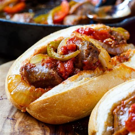 italian recipe italian sausage and peppers spicy southern kitchen