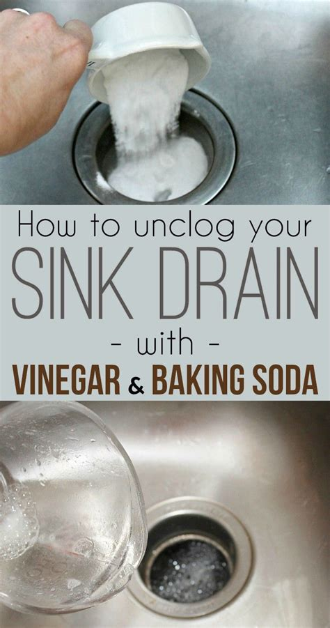 how to clear a clogged kitchen sink 1000 ideas about unclog sink on sink drain