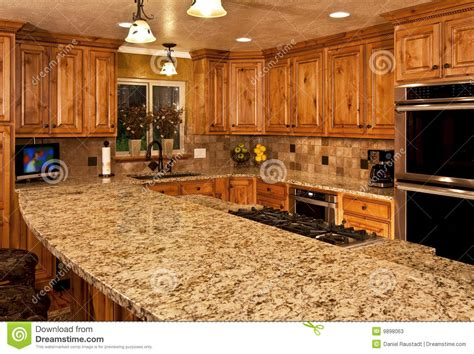 kitchen with center island new kitchen with center island stock photos image 9898063
