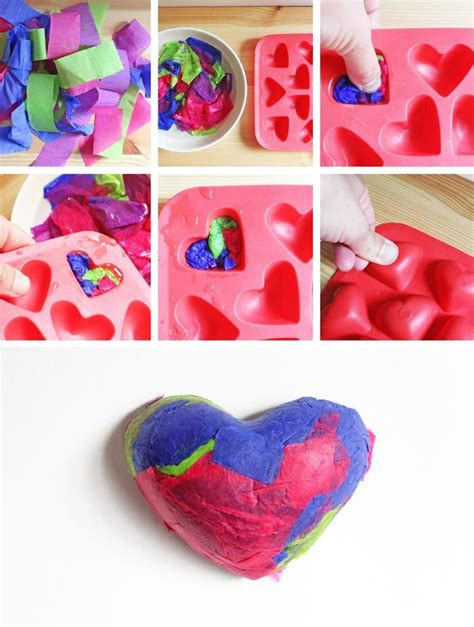 crafts to do with tissue paper 17 best images about st valentin on