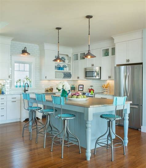 kitchen island chairs or stools 18 brilliant kitchen bar stools that add a serious pop of color