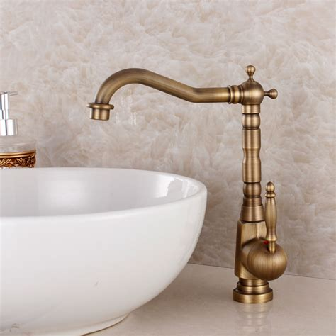 vintage kitchen faucets aliexpress buy fashion bronze faucet antique kitchen mixer basin mixer vintage sink faucet