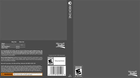 one covers xbox one cover template by etschannel on deviantart