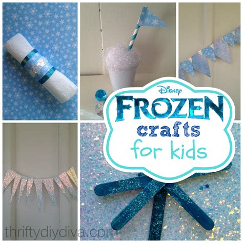 easy disney crafts for disney frozen crafts for on a budget