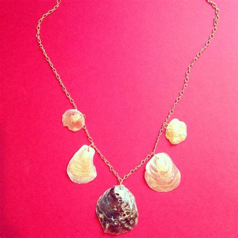 how to make jewelry from seashells diy seashell necklace ina visich designs