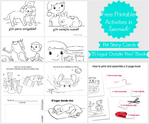 printable picture book free story cards book printable in spanishhacked bu josequal