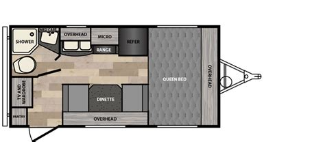 minnie winnie floor plans micro minnie floorplans winnebago rvs