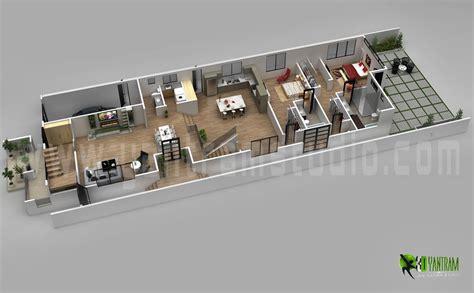 modern home floor plan wooloo org 3d floor plan design by ruturaj desai