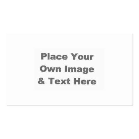 make you own card create your own business card zazzle