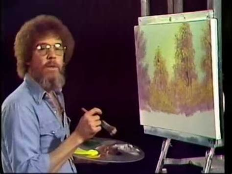 bob ross painting tv show bob ross a walk in the woods season 1 episode 1
