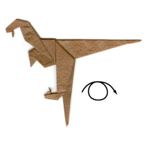 how to make an origami velociraptor how to make a simple origami velociraptor page 8