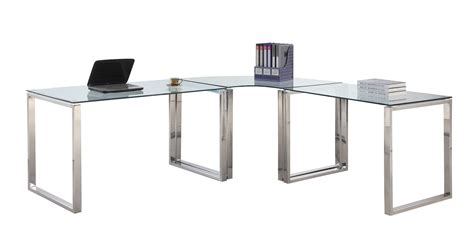 large glass office desk greenvirals style