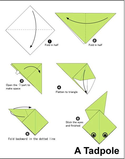 really easy origami for 17 best ideas about origami frog on easy