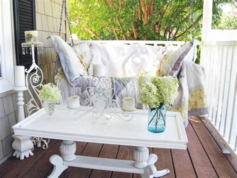 shabby chic outdoor furniture shabby chic decorating ideas for porches and gardens