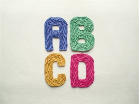 knitting letters alphabet free knitting pattern knit