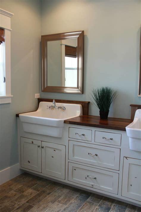 farmhouse bathroom vanity houseofaura bathroom vanity with farmhouse sink