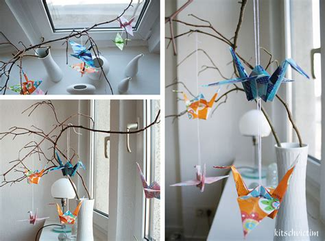 Decoration Tutorial Origami Paper Cranes From