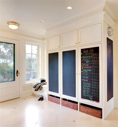 chalkboard paint ideas houzz 14 ways to transform your mudroom brit co