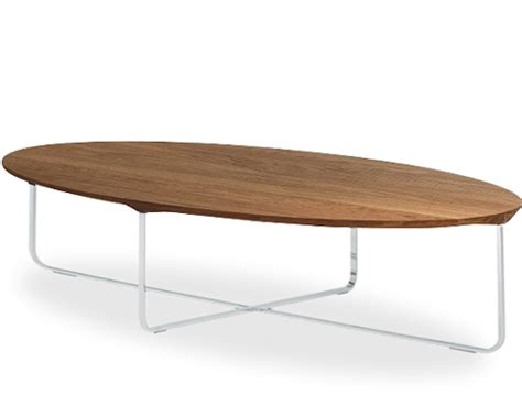Oval Office Furniture flint 140 oval coffee table hivemodern com