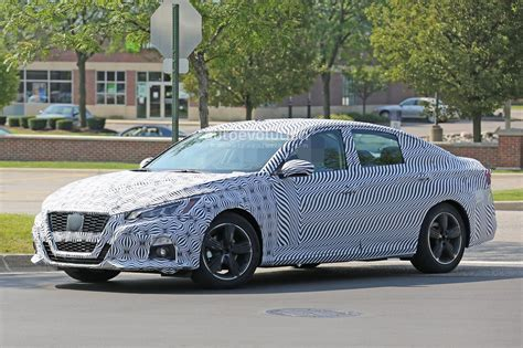Nissan Accord by Spyshots 2019 Nissan Altima Shows Interior Model Targets