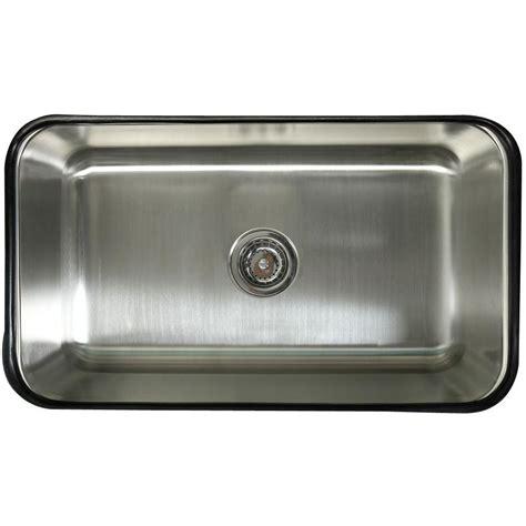 stainless steel undermount kitchen sinks single bowl kingston brass undermount stainless steel 30 in 0