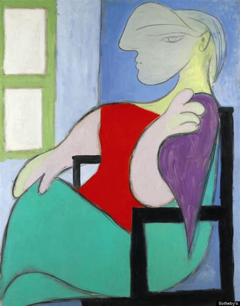 pablo picasso paintings worth picasso portrait of therese walter sells for