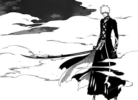 ichigo new bankai ichigo s new bankai look 475 daily anime