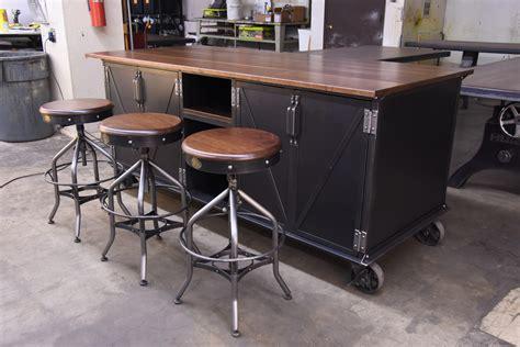 industrial kitchen island ellis kitchen island vintage industrial furniture
