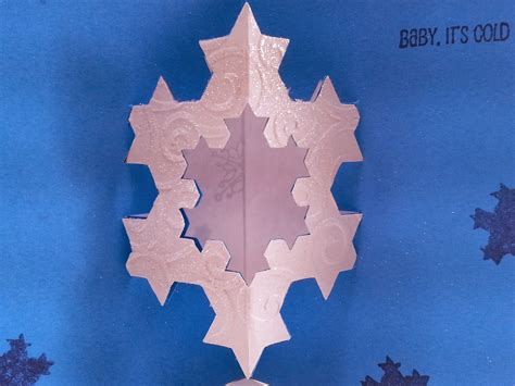how to make a fractal card kaleidoscope learning koch snowflake cards