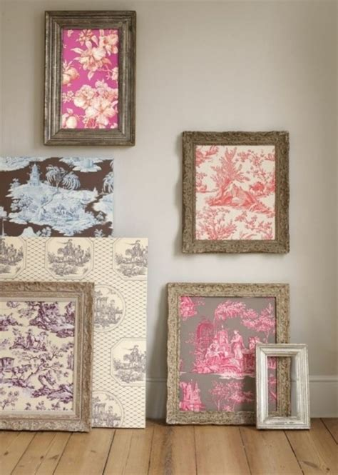 wallpaper craft projects 15 extremely easy diy wall ideas for the non skilled