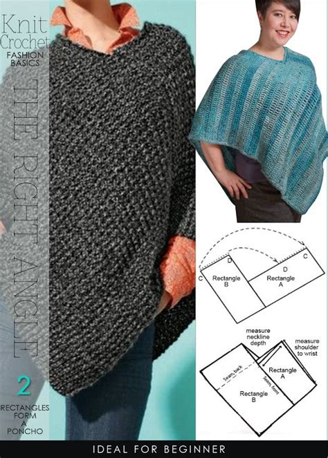how to knit a poncho for beginners pattern best 25 crochet poncho patterns ideas on free