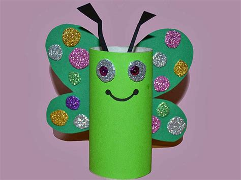 toilet paper roll butterfly craft toilet paper roll butterfly crafts 1 171 funnycrafts