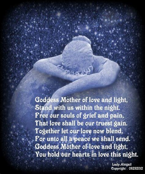 wiccan prayer prayer quotes guidance inspiration