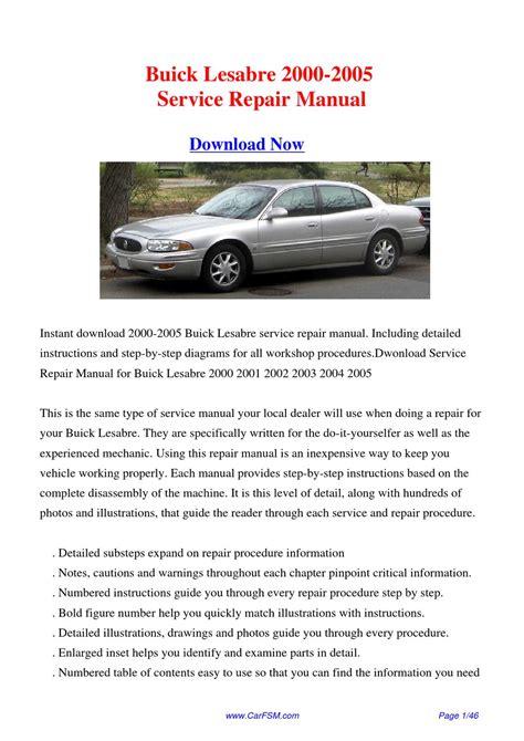 service manual downloadable manual for a 1992 buick park avenue buick park avenue 1992 le 1999 buick lesabre service repair manuals pdf download autos post