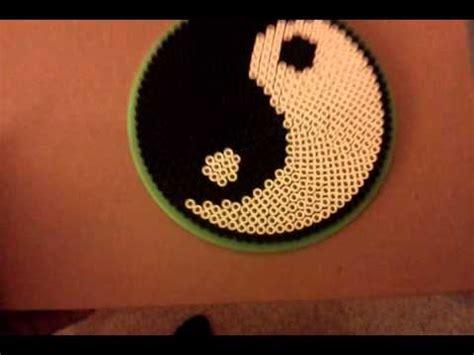 yin yang perler how to make yin yang perler bead